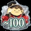 ŹOOĻ記念日2019 TOP100バッジ