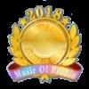2018 MOP TOP100バッジ