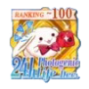 24hフォトジェニック生活 Dec.TOP100バッジ