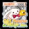 24hフォトジェニック生活 Mar.TOP1000バッジ