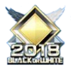 BLACK or WHITE 2018 TOP100バッジ