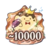 Re:vale記念日2019 TOP10000バッジ