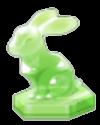 クリスタルラビットの置物(グリーン).png