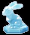 クリスタルラビットの置物(ブルー).png