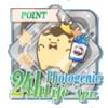 24hフォトジェニック生活 Apr.イベントポイントバッジ