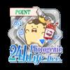 24hフォトジェニック生活 Dec.イベントポイントバッジ
