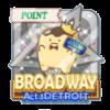 BROADWAY Act.1 DETROIT イベントポイントバッジ